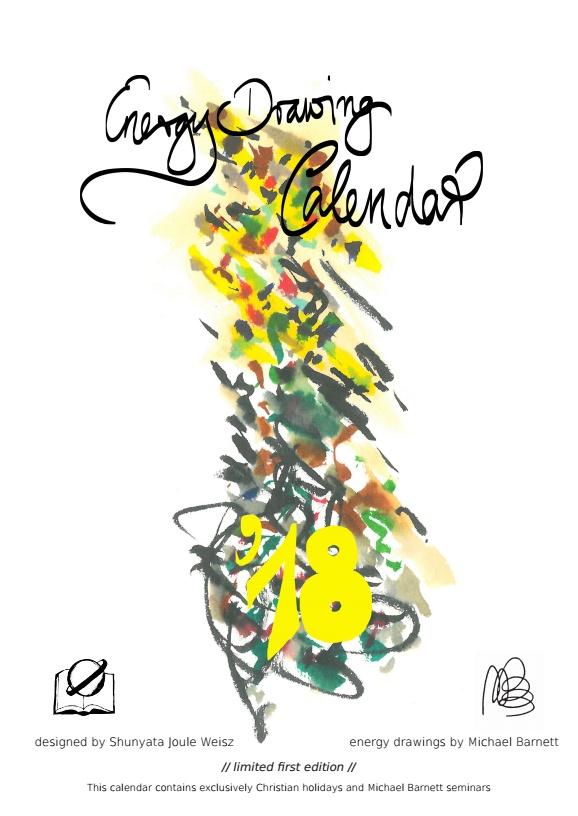 Drawing Calendar 2018 : Energy drawing calendar michael barnett onelife